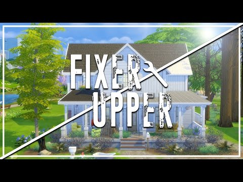 FORGOTTEN FARMHOUSE // The Sims 4: Fixer Upper - Home Renovation