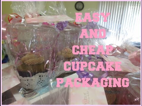 Easy and Cheap Cupcake Packaging!