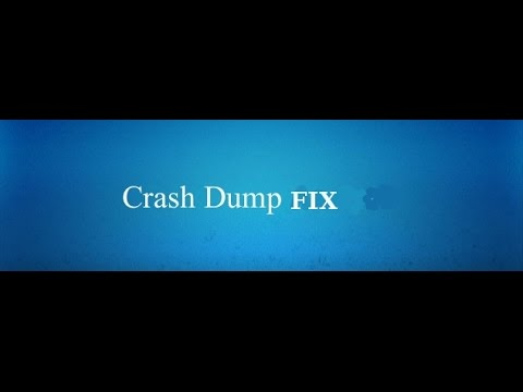 HOW TO FIX BLUE SCREEN OR WINDOW PC CRASH DUMP..