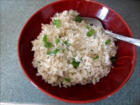 Simple Cilantro Lime Rice Recipe