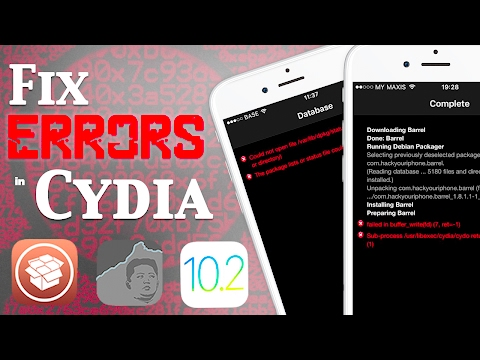 Fix Cydia Error Messages & Common Problems on iOS 10 - 10.2 Jailbreak | Buffer, Failed to Fetch, Fix