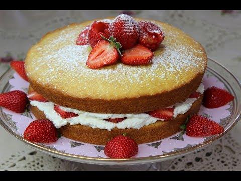 Victoria Sponge Cake-Good Enough for a Queen!
