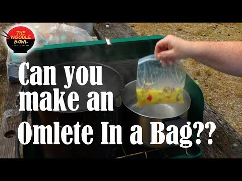 Can you make an Omlete in a Bag? Camp recipes, Breakfast ideas,  Camp fire cooking