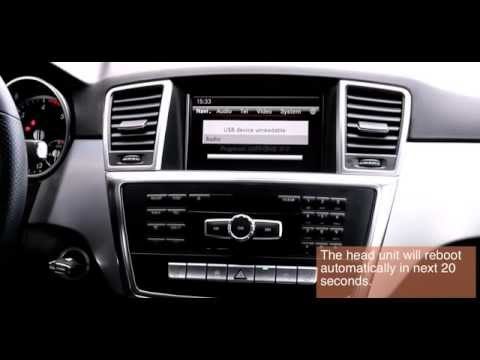 UnlockDVD | To unlock DVD / TV while driving for Mercedes-Benz