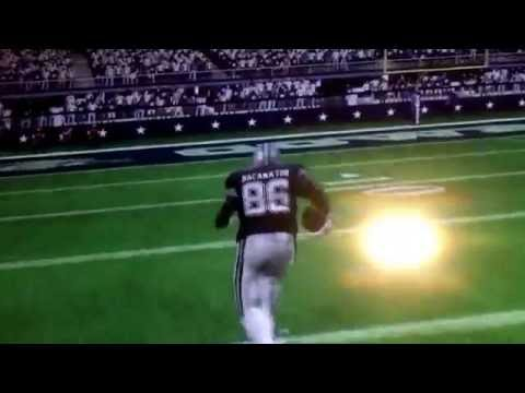 Madden Player Does Front Flip And Lands It!!!!!!!!