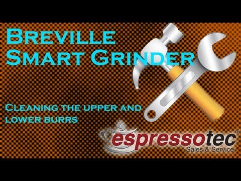 Breville Smart Grinder BCG800XL - How to Clean