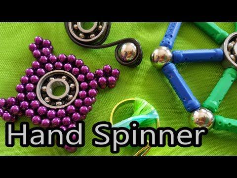 Hand Spinner : tuto facile et rapide avec des aimants, DIY ! A faire soi-même !