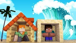 Minecraft: DESAFIO DA BASE TSUNAMI | Afreim