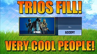 Download PLAYING TRIOS FILL ON A SCHOOL NIGHT!! (met some very funny people) Video