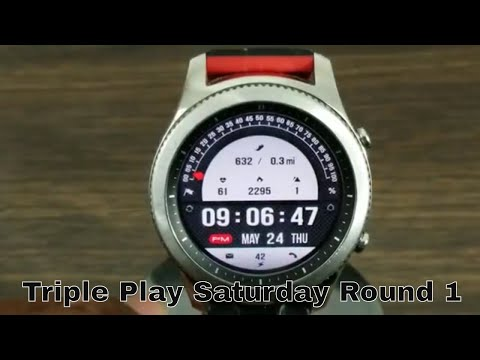 Gear S3 Triple Play Saturday Round 1 *Watch Face Giveaway*