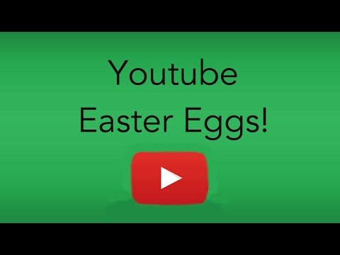Youtube Easter Eggs!