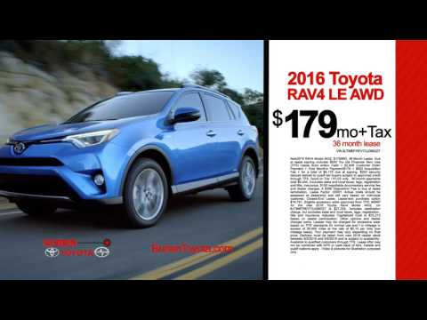 August RAV4 Lease Offer - Burien Toyota