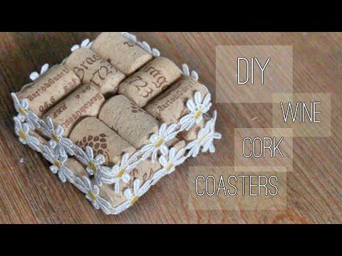 DIY | Wine Cork Coasters