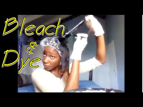 HEALTHY WAY I lighten and dye my hair - NO BREAKAGE!   with TIPS, TRICKS, WARNINGS and PICS