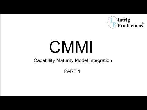 Practical Introduction to CMMI - Capability Maturity Model Integration by Praveen -  PART 1