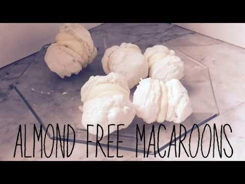 homemade almond free macaroons!