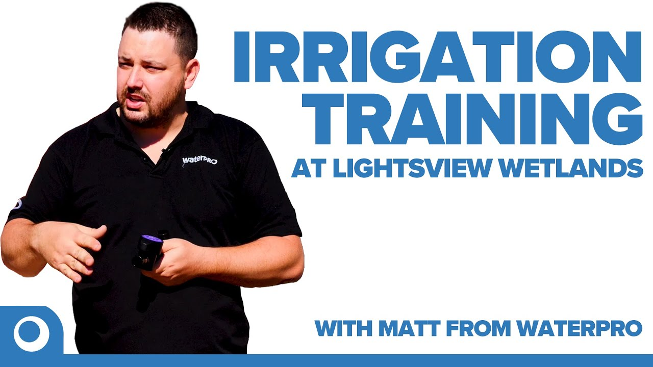 Commercial Irrigation Training with Adelaide Property and Gardens