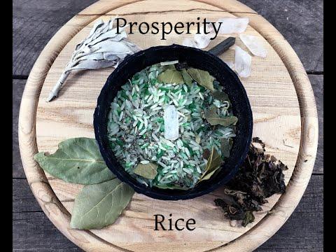 DIY #1: Prosperity Rice
