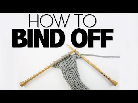HOW TO BIND OFF/ CAST OFF