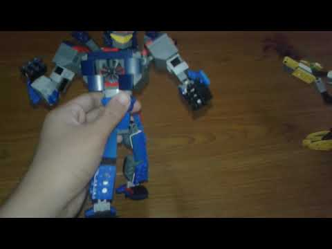 Lego gipsy danger and knifehead