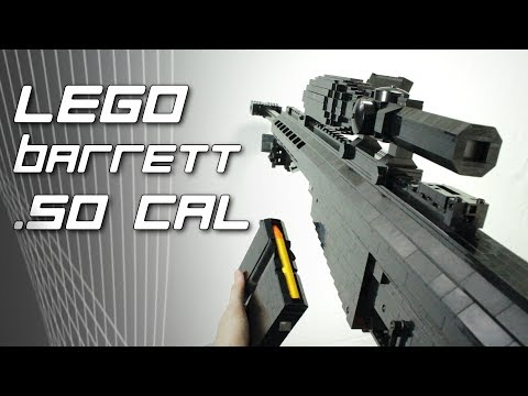 LEGO Barrett M82A1 (.50 Cal Anti-Material Rifle)