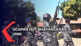 HUT Bhayangkara, Prajurit TNI AL Berondong Tembakan di Mapolres Sikka