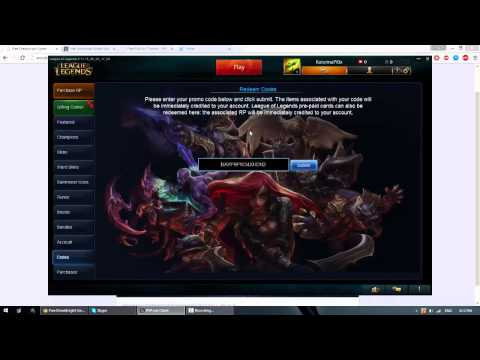 League of legends : 3 Free skins