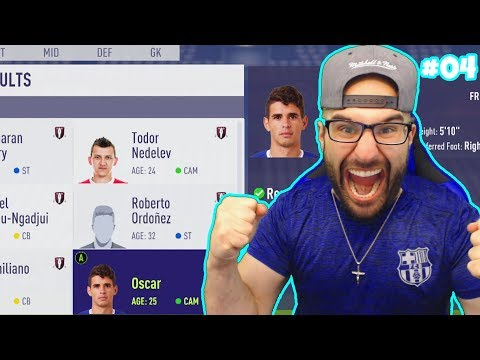 HOLY SH*T 3 BIG FREE AGENTS SIGN FOR BARCA! - FIFA 18 CAREER MODE BARCELONA #04