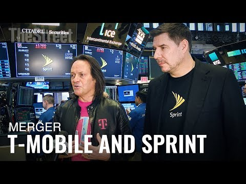 T-Mobile CEO John Legere and Sprint CEO Marcelo Claure on Why Merger Will Lower Prices