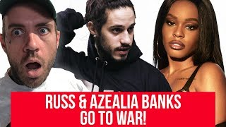 Russ and Azealia Banks are beefing and it