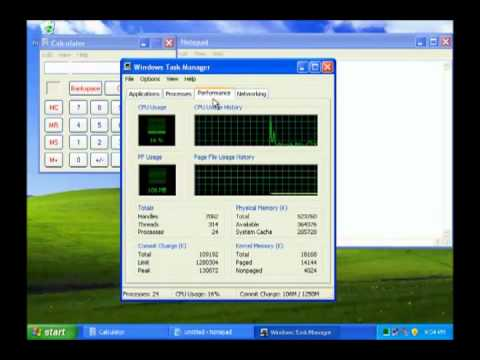 How to Use Windows Task Manager in Windows XP