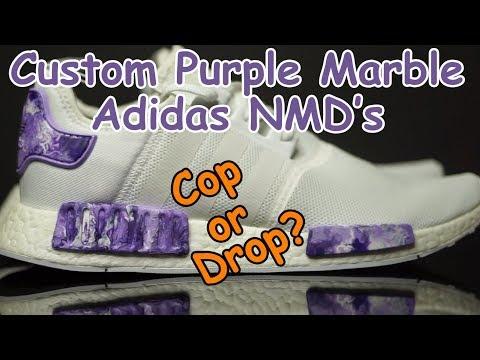 Custom Marble Adidas NMD's - Cop Or Drop?
