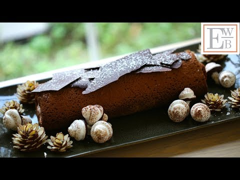Beth's Buche de Noel Recipe (How to Make a Christmas Yulelog) | ENTERTAINING WITH BETH
