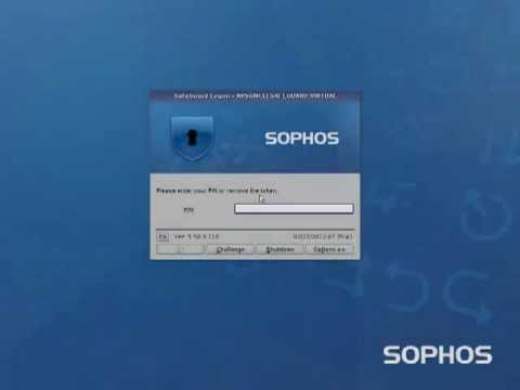 Sophos SafeGuard SmartCard Login