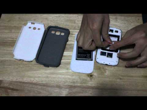 otterbox commuter galaxy s3 remove and assemble