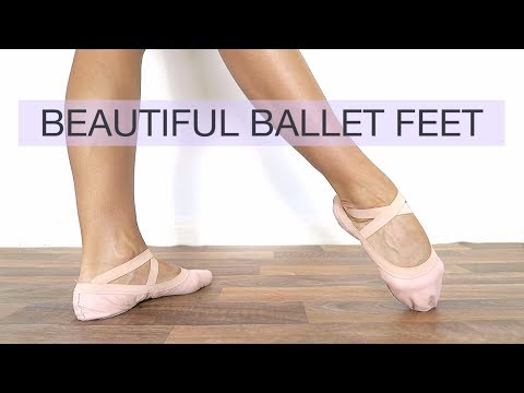 HOW TO IMPROVE YOUR ARCH & GET BEAUTIFUL BALLET FEET - Top Tips and Exercises | natalie danza