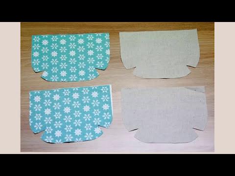 Shine Sewing Tutorial Easy Cosmetics Bag Tutorial