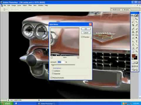 RUST AND DENTS   PHOTOSHOP TUTORIAL