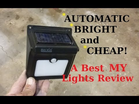 Upgraded and  better Outdoor Solar Lights Home & RV