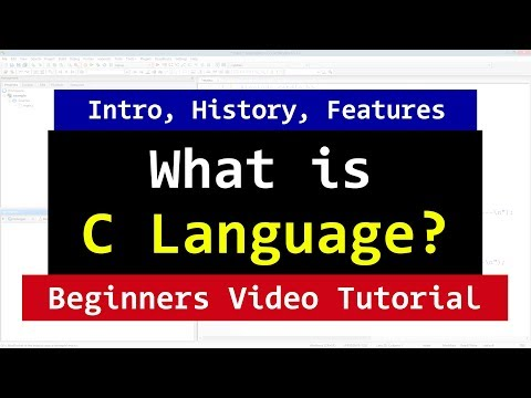 Introduction to C Programming Language | History | Why Study It | Video Tutorial