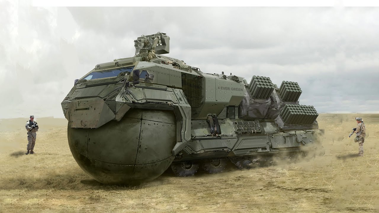 12 Most Insane Military Vehicles in the World