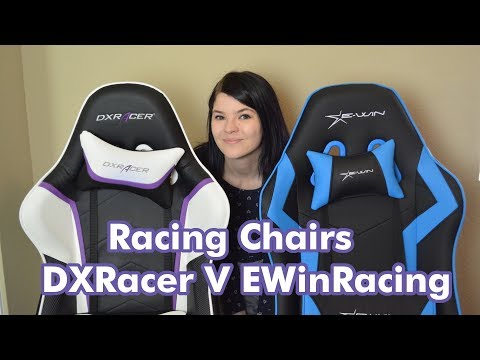 E-Win Racing vs DXRacer - Gaming Chair Review + Giveaway