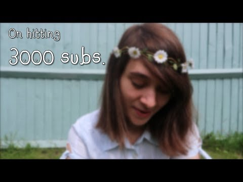 I hit 3k subscribers @ SitC