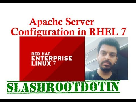Apache Web Server configuration in Redhat Enterprise Linux 7