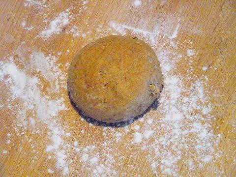 How to make shallot and nuts hamburger buns. Easy. Super Fast