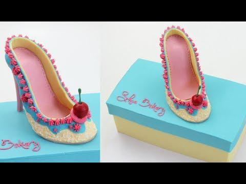How To Make A Shoe Bakery Cake