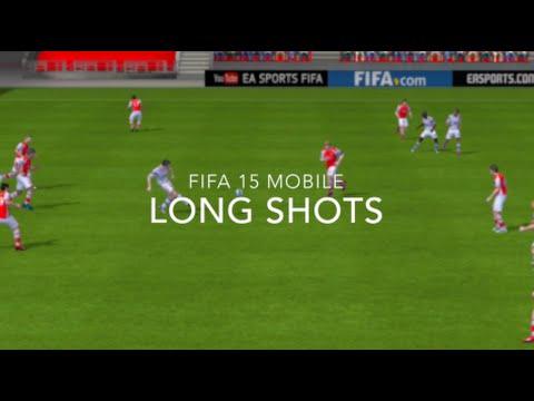 Fifa 15 iOS/Android Skill Tutorials #8- Long Shots