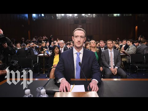Mark Zuckerberg testifies on Capitol Hill (full Senate hearing)