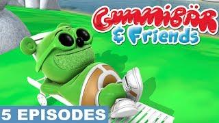 Gummy Bear Show Fifth 5 Episodes - Super Gummy, Creepy Creature of Nightmare Creek, Camping Trip