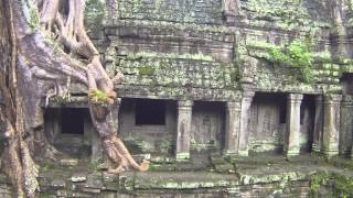 Magic Angkor Wat Cambodia (filmed with a drone)